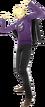 P4D Kanji Tatsumi School Uniform Midwinter change free DLC