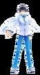 SMTxFE Itsuki DLC Costume DS2 Protagonist