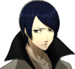 P5 portrait of Yusuke Kitagawa's phantom thief outfit without mask