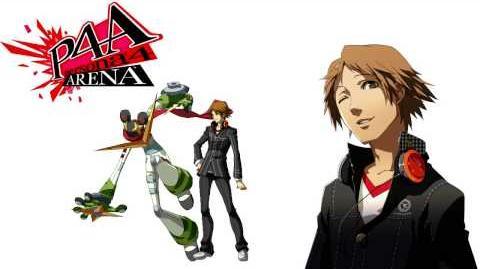Persona 4 Arena Yosuke Hanamura Voice Clips Japanese - Japones