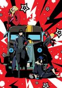 Persona 5 The Night Breakers Drama CD Cover