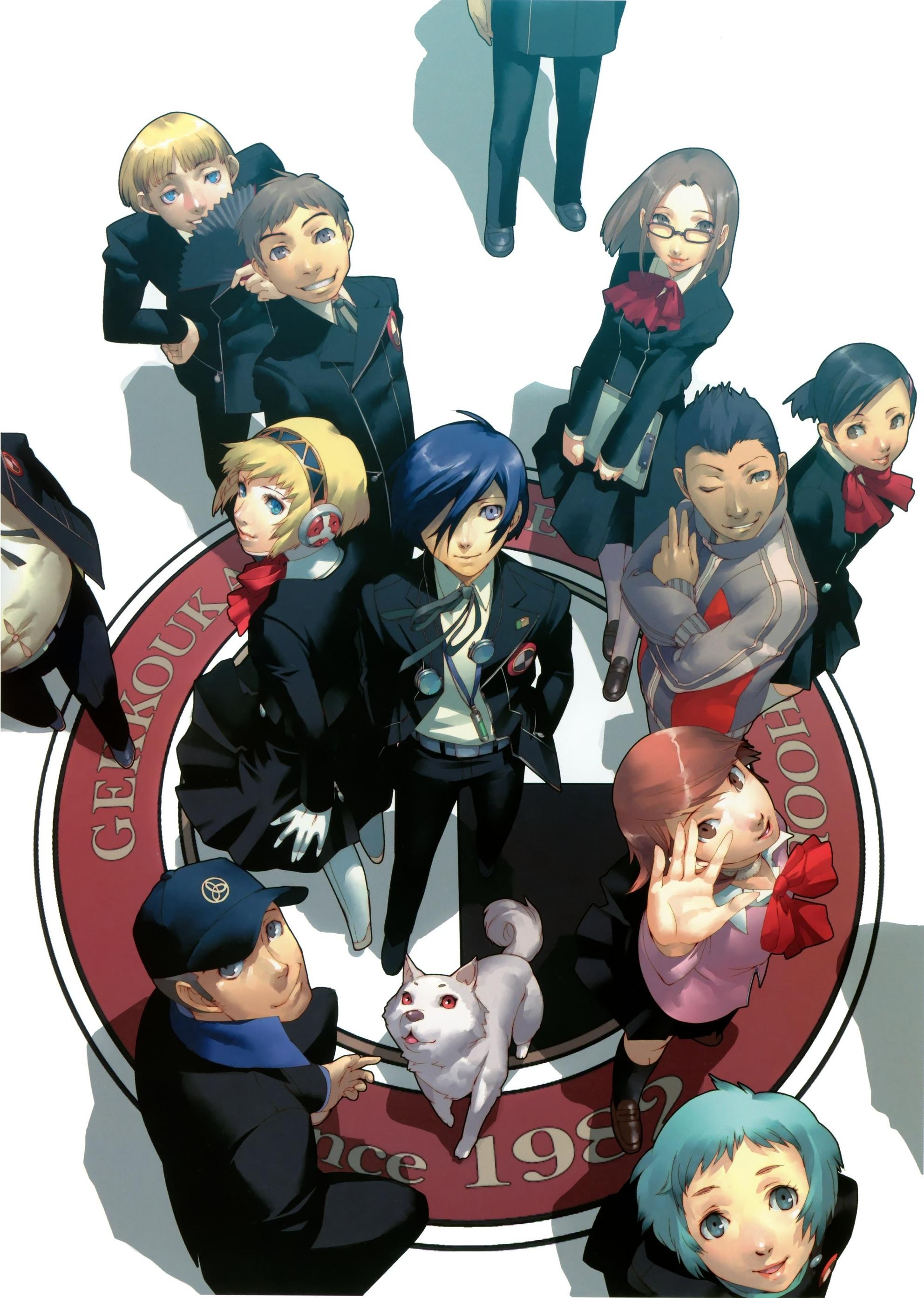Image - Persona 3 FES artwork.jpg | Megami Tensei Wiki