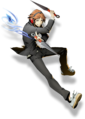 Yosuke Hanamura (BlazBlue Cross Tag Battle, Character Select Artwork).png