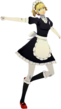 P3D Aigis maid outfit