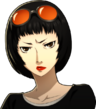 P5 Portrait of Ohya Scowling