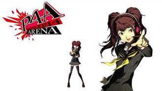 Persona 4 Arena Rise Kujikawa Voice Clips English - Ingles