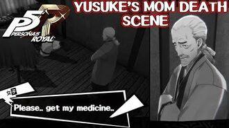 Yusuke's mom death scene ( unused cutscene ) - Persona 5 Royal