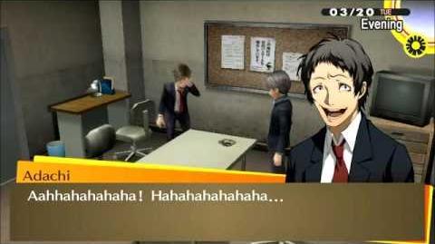 Tohru Adachi Laughing (Persona 4 Golden)