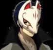 P5 portrait of Yusuke Kitagawa's phantom thief outfit
