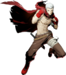 Akihiko Sanada (BlazBlue Cross Tag Battle, Character Select Artwork)