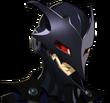 P5R Portrait Black Mask Scowling