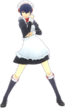 P4D Naoto Shirogane maid uniform