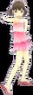 P4D Nanako Doijima swimsuit change