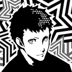 Persona 5 Confidant Guides Icon (Chariot) - Ryuji Sakamoto