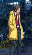 Adachi pre-battle outfit