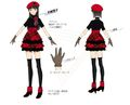 P4D Official Visual Visual Book Original Stage Costume for Yukiko.jpg