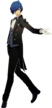 P3D the protagonist Butler Suit
