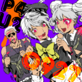 P4AU Illustration Halloween 2016 of Kanji, Naoto and Rise by Rokuro Saito.png