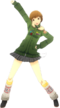 P4D Chie Satonaka School Uniform Midwinter change free DLC
