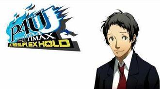 Persona 4 Arena Ultimax - Tohru Adachi Voice Clips Japanese - Japones
