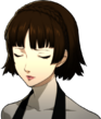 P5R Portrait Makoto Frowning