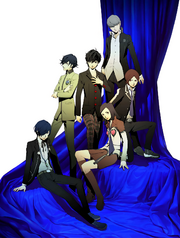PERSONA 20th Anniversary Festival visual art by Shigenori Soejima
