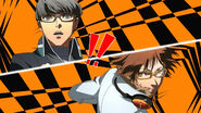 Persona 4 anime All Out Attack