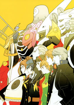 Persona 4 investigation team 6