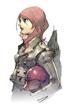 P3 Mitsuru Colored Sketch
