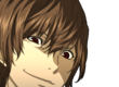 Akechi smiling cut-in