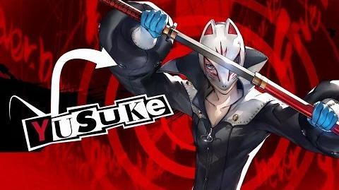Persona 5 Introducing Yusuke