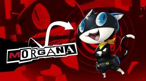 Persona 5 Introducing Morgana