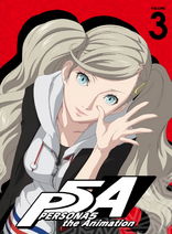 Persona 5 The Animation DVD Reverse Cover Volume 3