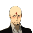 P5 portrait of Shido Injured