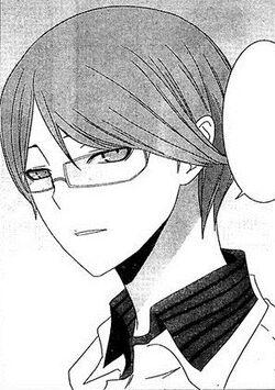 Keisuke Takagi in Devil Survivor manga adaption