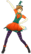 P4D Chie Satonaka halloween outfit change