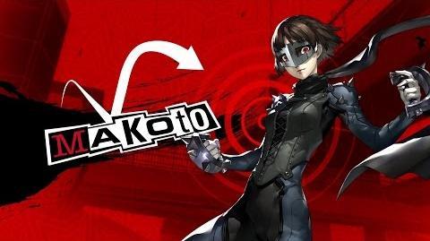 Persona 5 Introducing Makoto