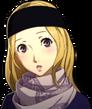 P5R Portrait Chihaya Winter Flushed