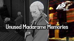 Unused Madarame Memories (Yusuke's Mom Death Scene) - P5R