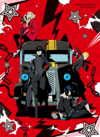 PERSONA5 THE ANIMATION - THE DAY BREAKERS - DVD package visual by Shigenori Soejima