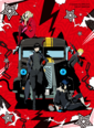 PERSONA5 THE ANIMATION - THE DAY BREAKERS - DVD package visual by Shigenori Soejima.png