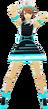 P3D Yukari Takeba Neon Dress