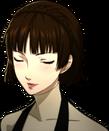 P5 Portrait of Makoto blushing