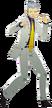 P3D Akihiko Sanada Kyoji Kuzunoha DLC costume