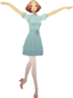 P5D Haru Okumura Summer Outfit