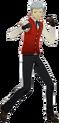 P3D Akihiko Sanada winter school uniform