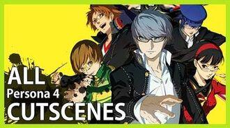 Persona 4 - All Cutscenes (Game Movie HD)