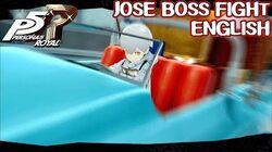 Jose Boss Fight ENGLISH - Persona 5 Royal