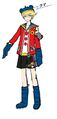 P4D Official Visual Visual Book Original Stage Costume for Teddie, 02.jpg