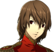 P5 portrait of Goro's phantom thief outfit without mask